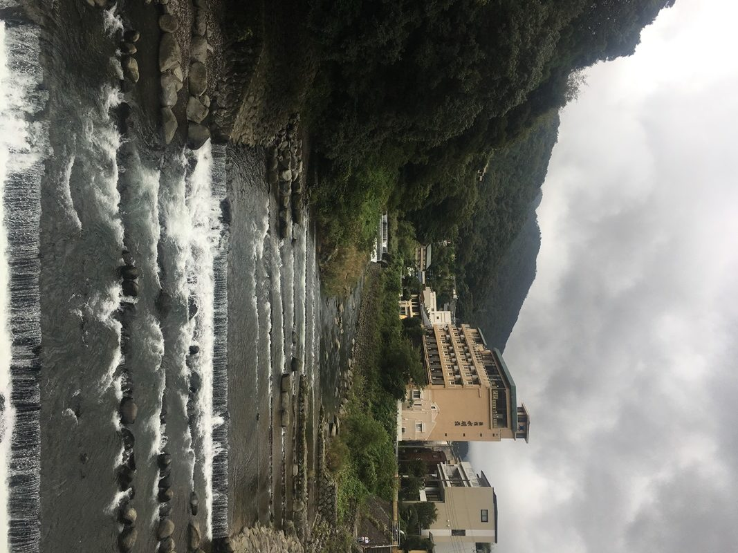 箱根湯本から須雲を登っていく時の景色